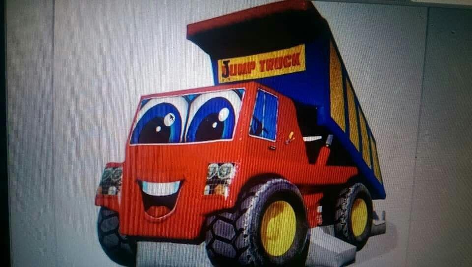 Jump Truck Toy car, Trucks, Monster trucks