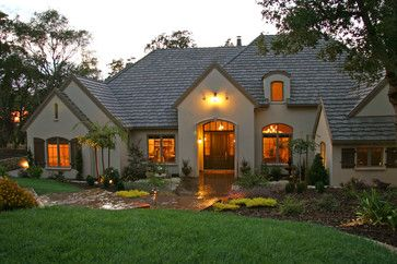 Stucco House Design Ideas Pictures Remodel And Decor Stucco Homes House Exterior Exterior House Colors