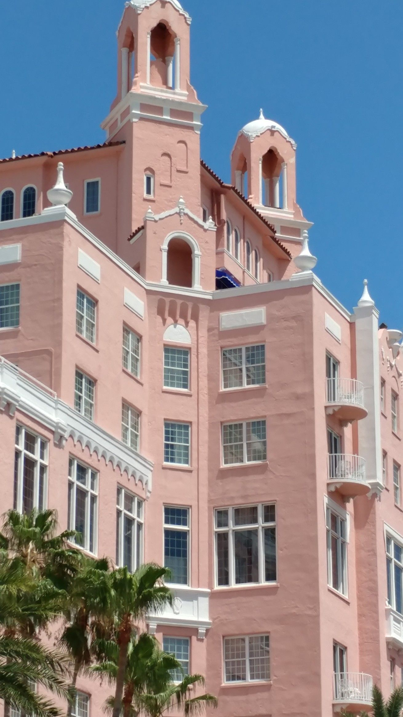 Don Cesar in all its glory on St Pete's beach. Florida