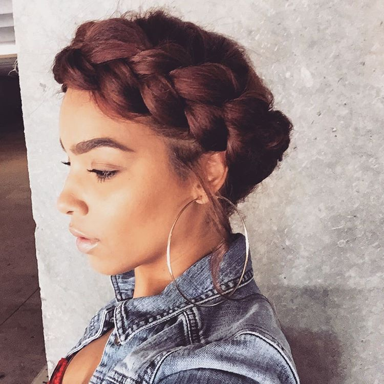 Best 25+ Halo Braid With Weave Ideas On Pinterest