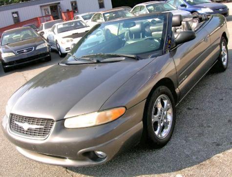 2000 chrysler sebring jxi limited convertible for sale under 3000 in atlanta ga cheap cars. Black Bedroom Furniture Sets. Home Design Ideas