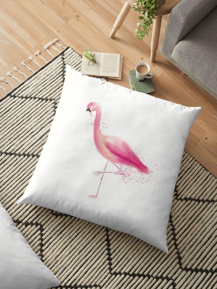 skandinavisch wohnen / einrichten - Sitzkissen / Kissen Flamingo in pink - eine tolle Geschenkidee  #kissen #dekoideen #geschenk #flamingos #scandinavian #style #deko
