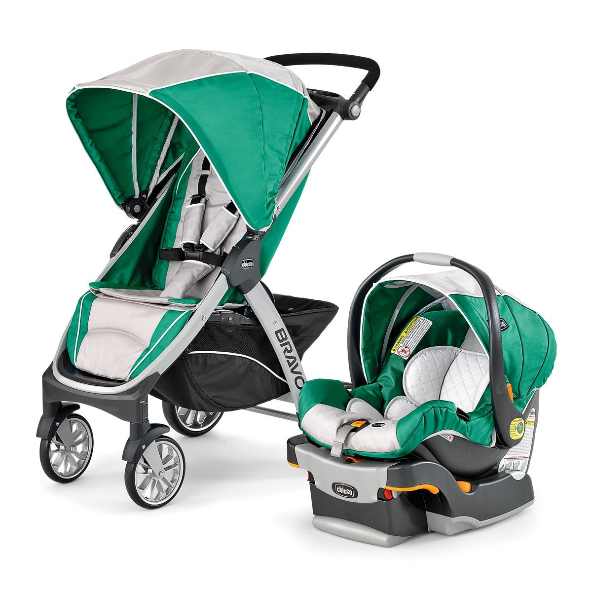 Chicco Chicco Bravo Trio Travel System Stroller Empire