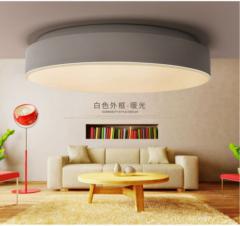 A Very Happy Light Round Led Ceiling Lamp Bedroom Modern Mesmerizing Lamp Bedroom Decorating Design