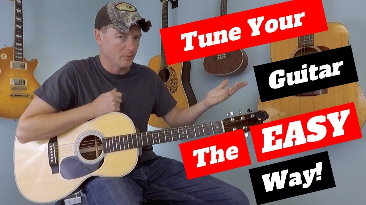How to Tune a Guitar The Easy Way Guitar, Guitar