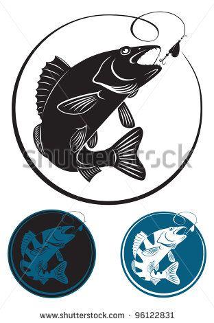 Download Walleye Art Drawing Google Search Fish Silhouette Art Drawings