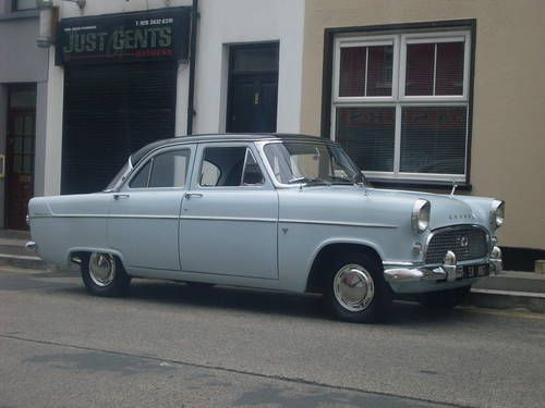 1958 Ford Consul Mkii Two Tone Paintwork Again Although This