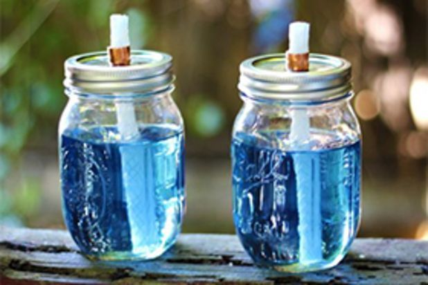 how to make outdoor citronella candles
