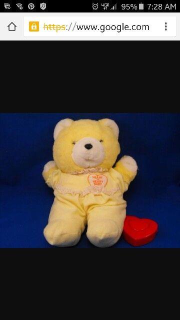 Heart to Heart Bear one of my favorite childhood bears..1980's