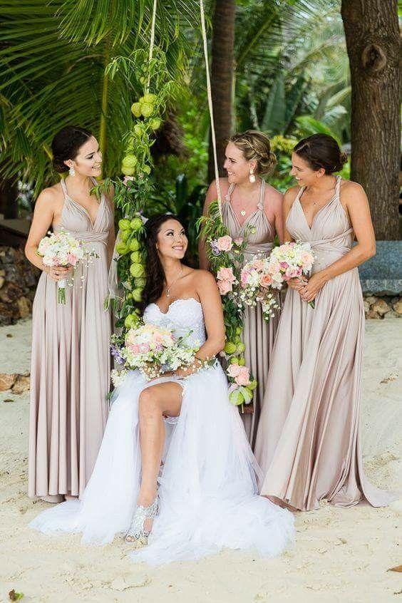 Simple But Beautiful Wedding Look