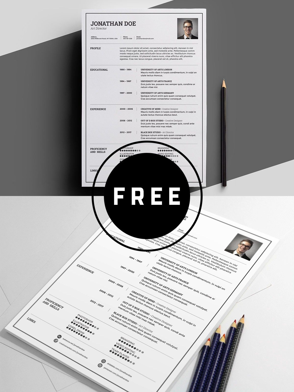 graphic design resume examples 2019