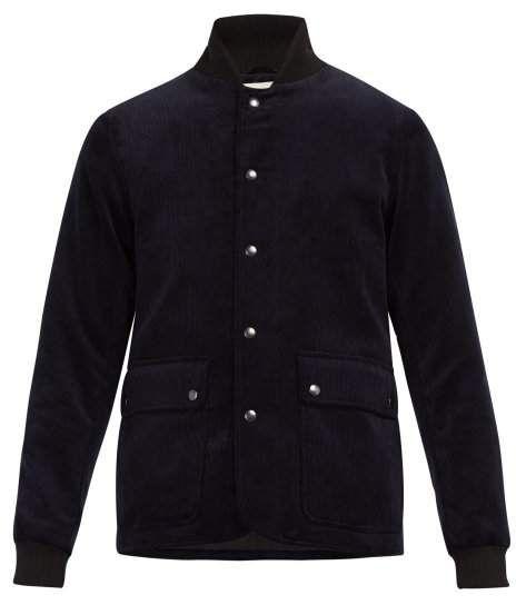 ff41be9e5 Berwick cotton-corduroy bomber jacket | Products | Jackets, Bomber ...