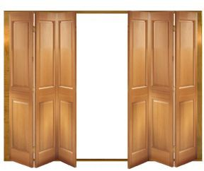 Victorian Internal Folding Slidng Door Set | Oak Folding Doors ...