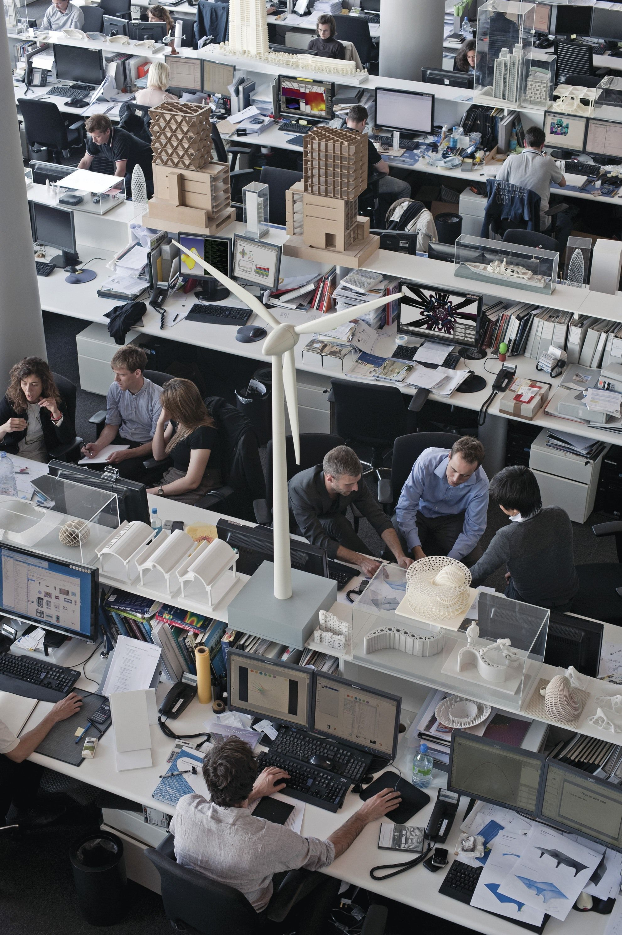 norman foster office. Inside Foster Partners Headquarters Norman Office