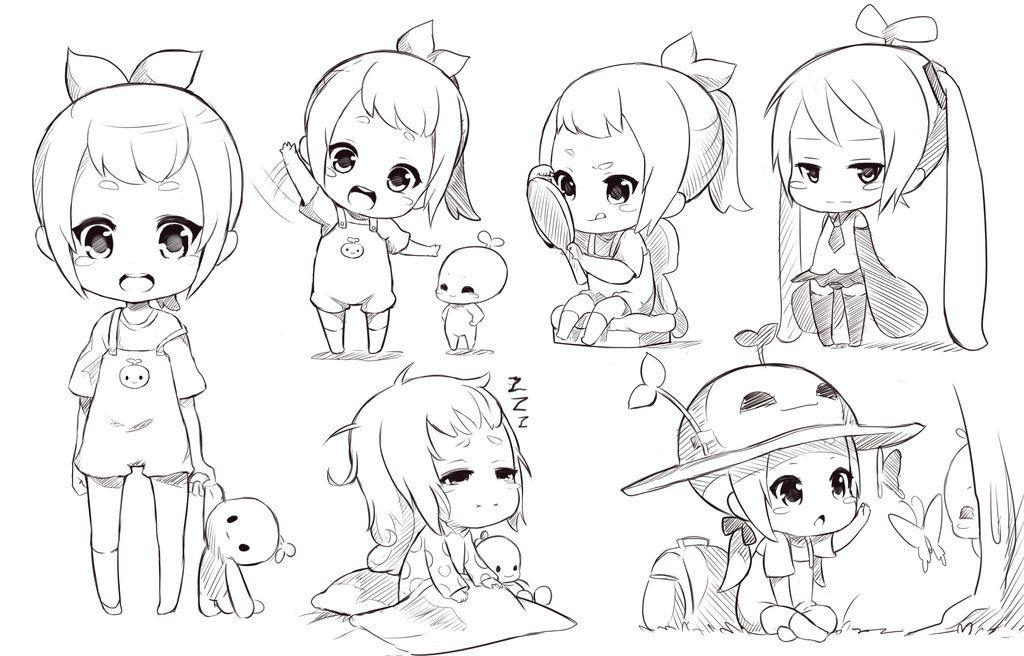 Chibi sketch