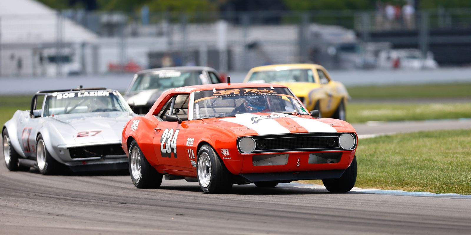 Gallery: Top 25 shots from the Brickyard Vintage Racing Invitational ...