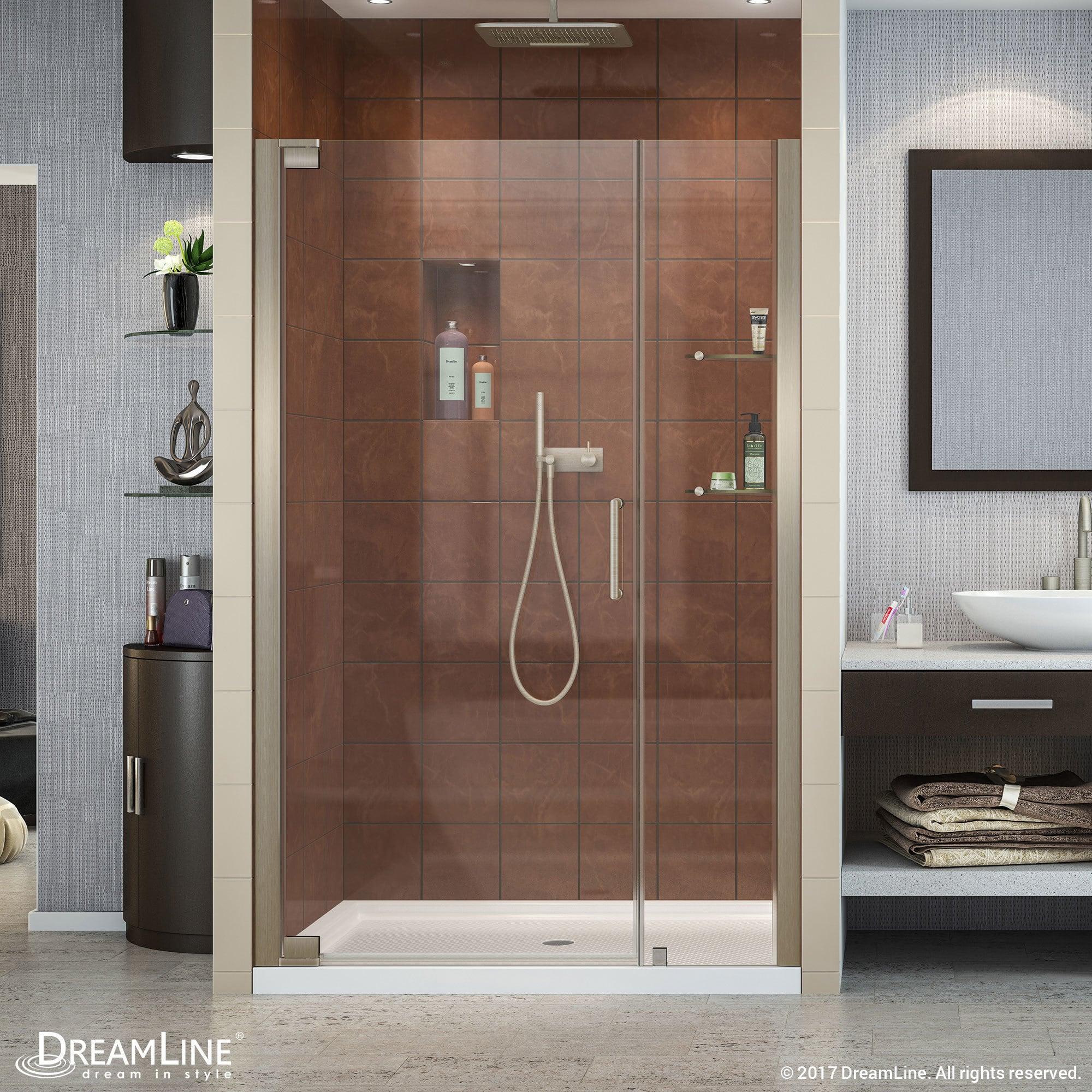 Dreamline Elegance 46 48 In W X 72 In H Frameless Pivot Shower