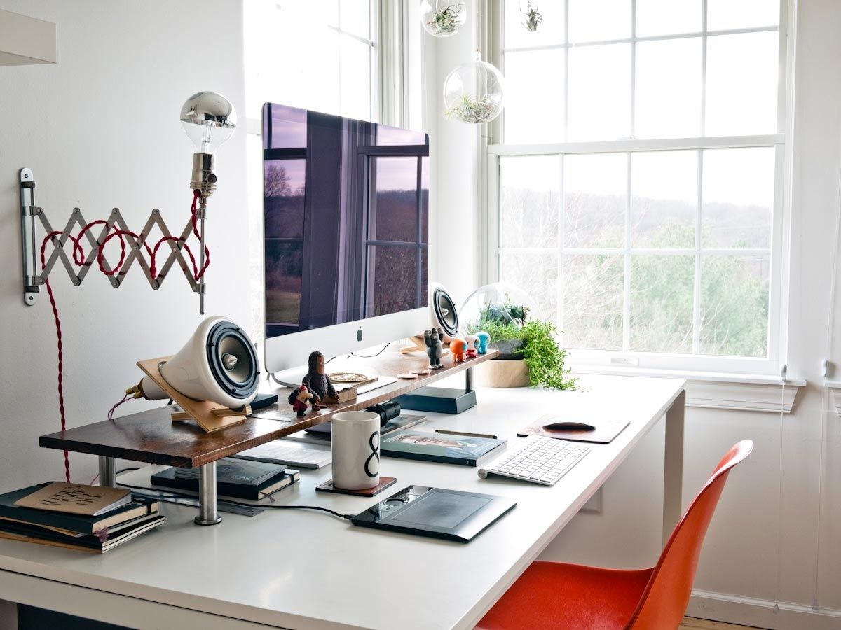 Work Desk Setup Google Search Ideas Pinterest
