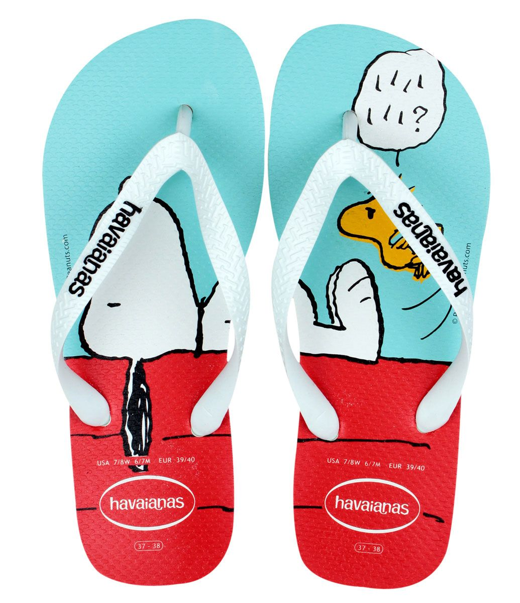 e014f295626 Chinelo Havaianas Feminino com Estampa Snoopy - Lojas Renner