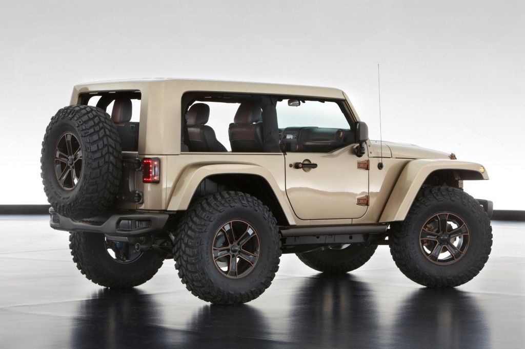 Jeep And Mopar Show Their Moab Easter Jeep Safari Concepts Jeep