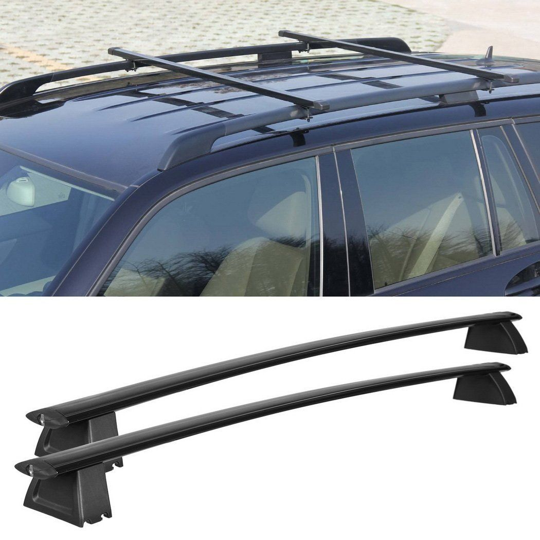 [US Stock]Car Roof Rack Cross Bars Set for 20112017 Jeep