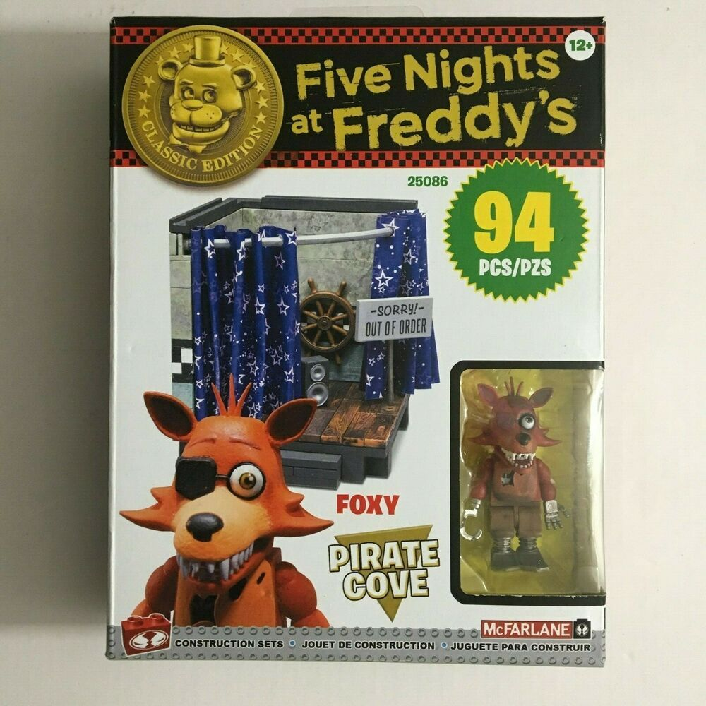 NEW Five Nights At Freddy/'s FOXY PIRATE COVE Classic Edition McFarlane Toys