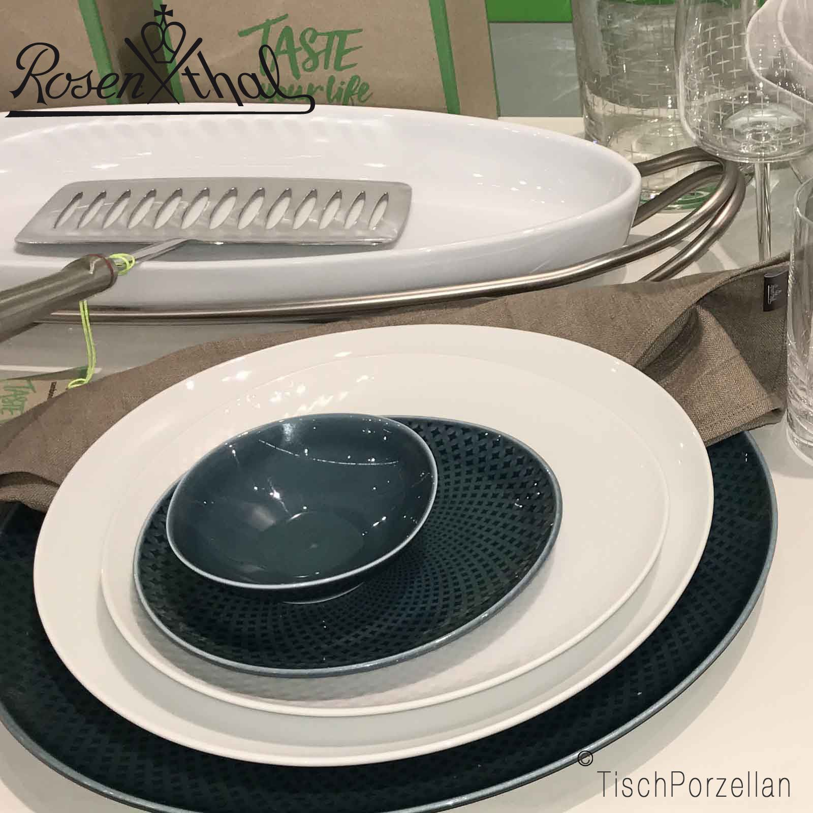 rosenthal junto speiseteller neuheit 2017. Black Bedroom Furniture Sets. Home Design Ideas