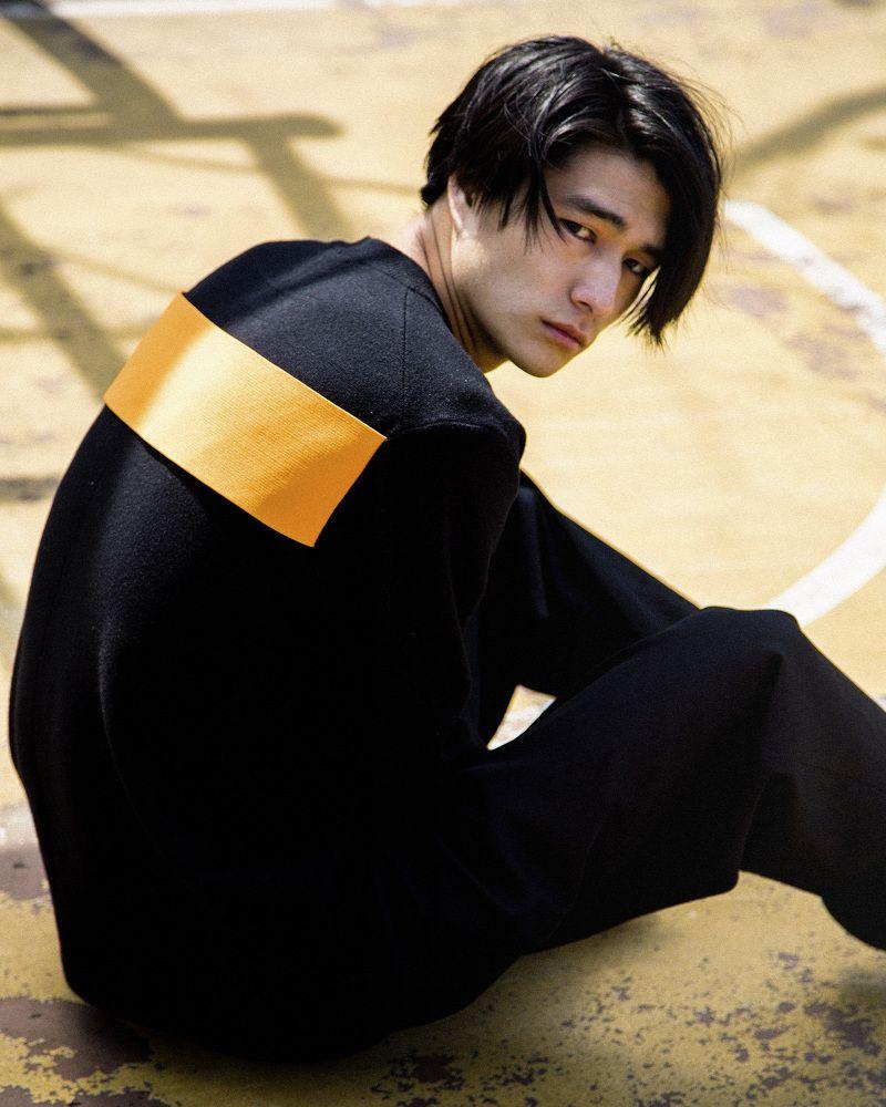 Hair style of boy image shintaro yuya boys on the court by sang hun lee  髪型  pinterest
