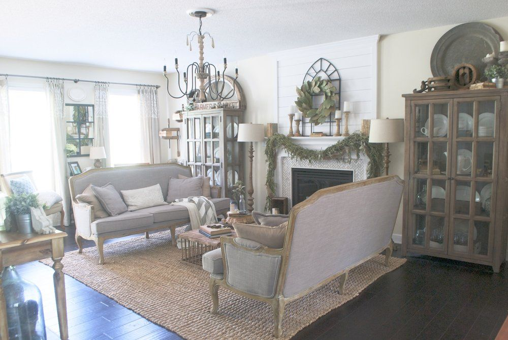 My Cozy French Farmhouse Living Room I'm Giving You All The Endearing French Design Living Room Inspiration