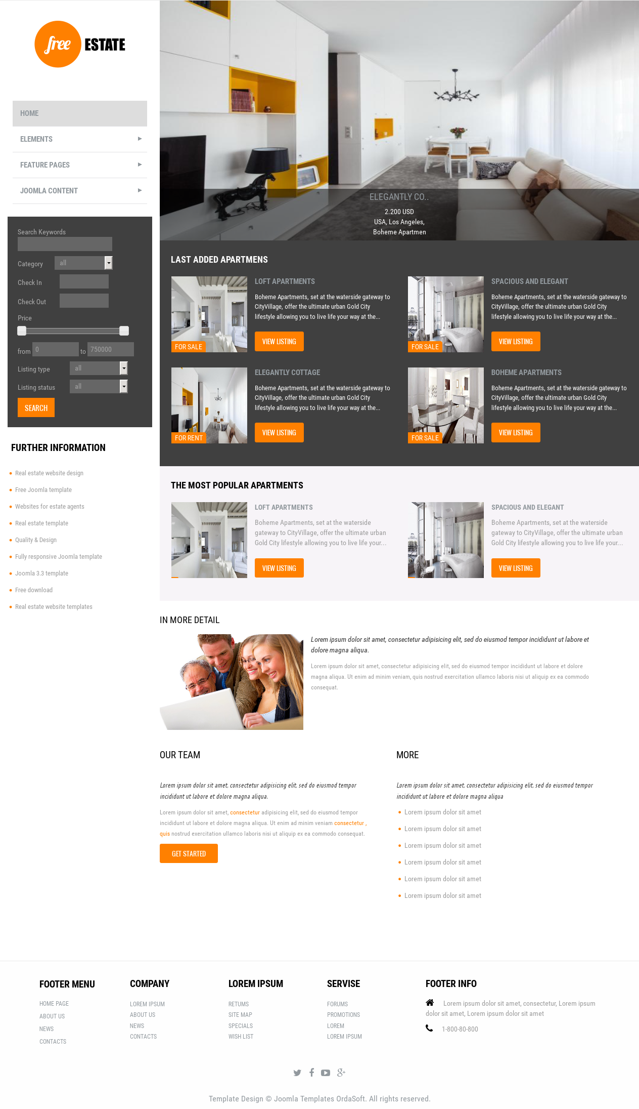 estate is clean real estate template for joomla 3 4 estate is clean real estate template for joomla 3 4 in the base