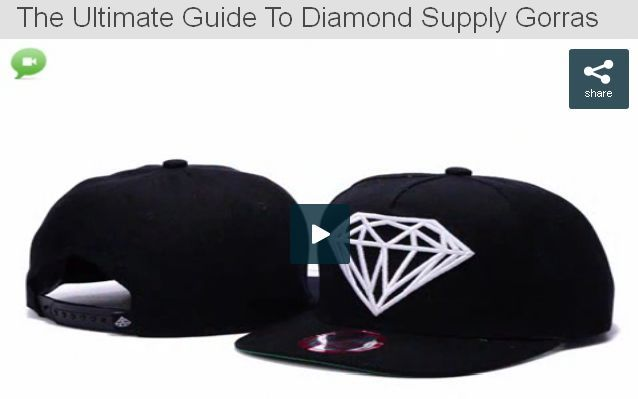 The Ultimate Guide To Diamond Supply Gorras