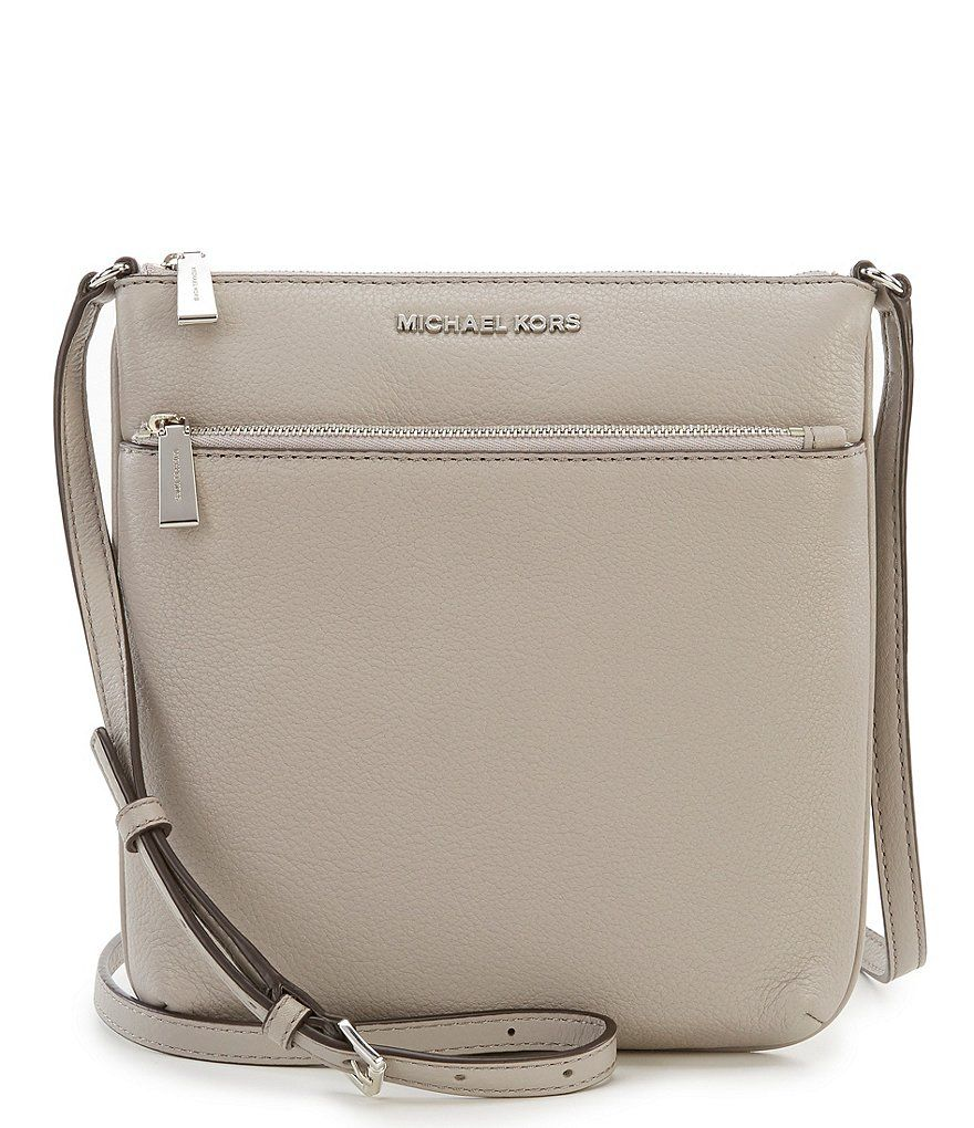 MICHAEL Michael Kors Riley Small Flat Cross-Body Bag in 2018 ... 3ea257a0ae09d