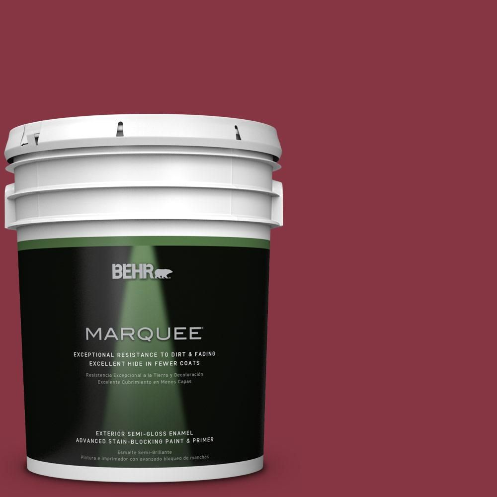 BEHR MARQUEE Blue Chalk One Coat Hide Semi Gloss Enamel Interior Paint  Provides A Radiant, Sleek Appearance With Ultimate Long Lasting Durability.