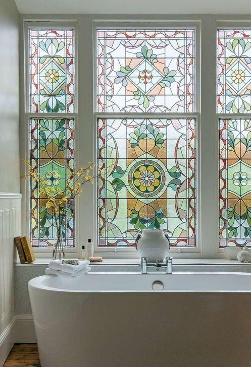 99 Comfy Stained Glass Window Design Ideas For Home 99bestdecor Window Design House Interior Georgian Townhouse