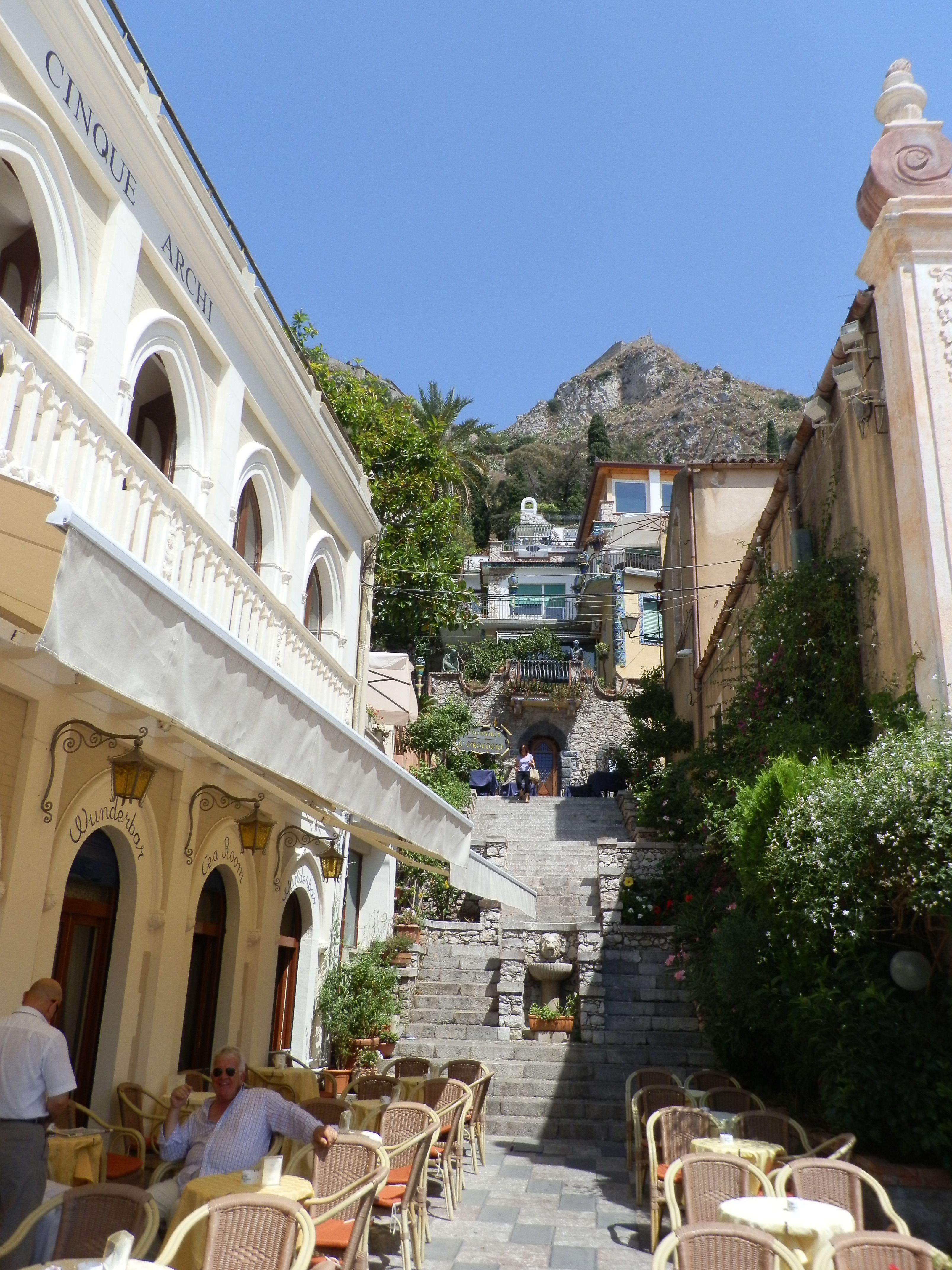 Taormina, Sicilia.