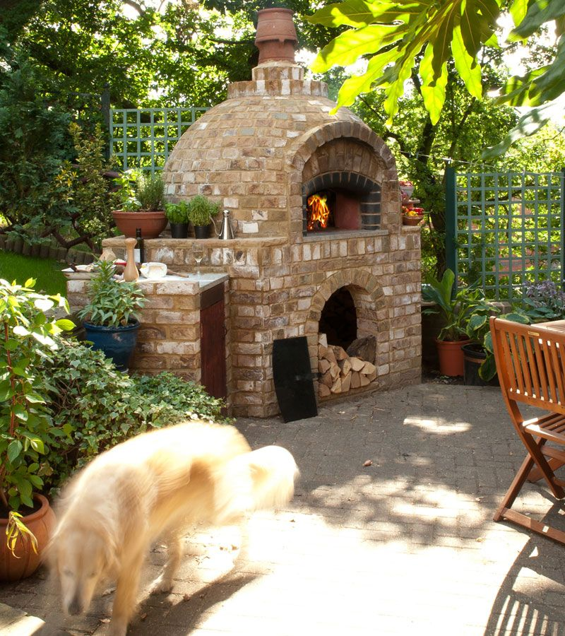 Dome60 Leggero Wood Fired Oven By Jamie Oliver Brick