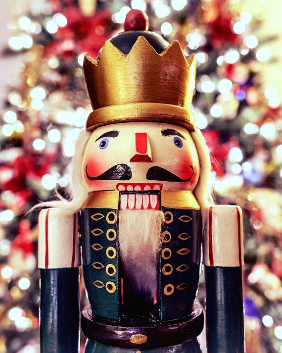 Nutcracker Print Christmas Photography Nutcracker Art Christmas Wall Art Festive Wall Decor Nutcracker Christmas Decorations Christmas Wall Art Nutcracker Christmas