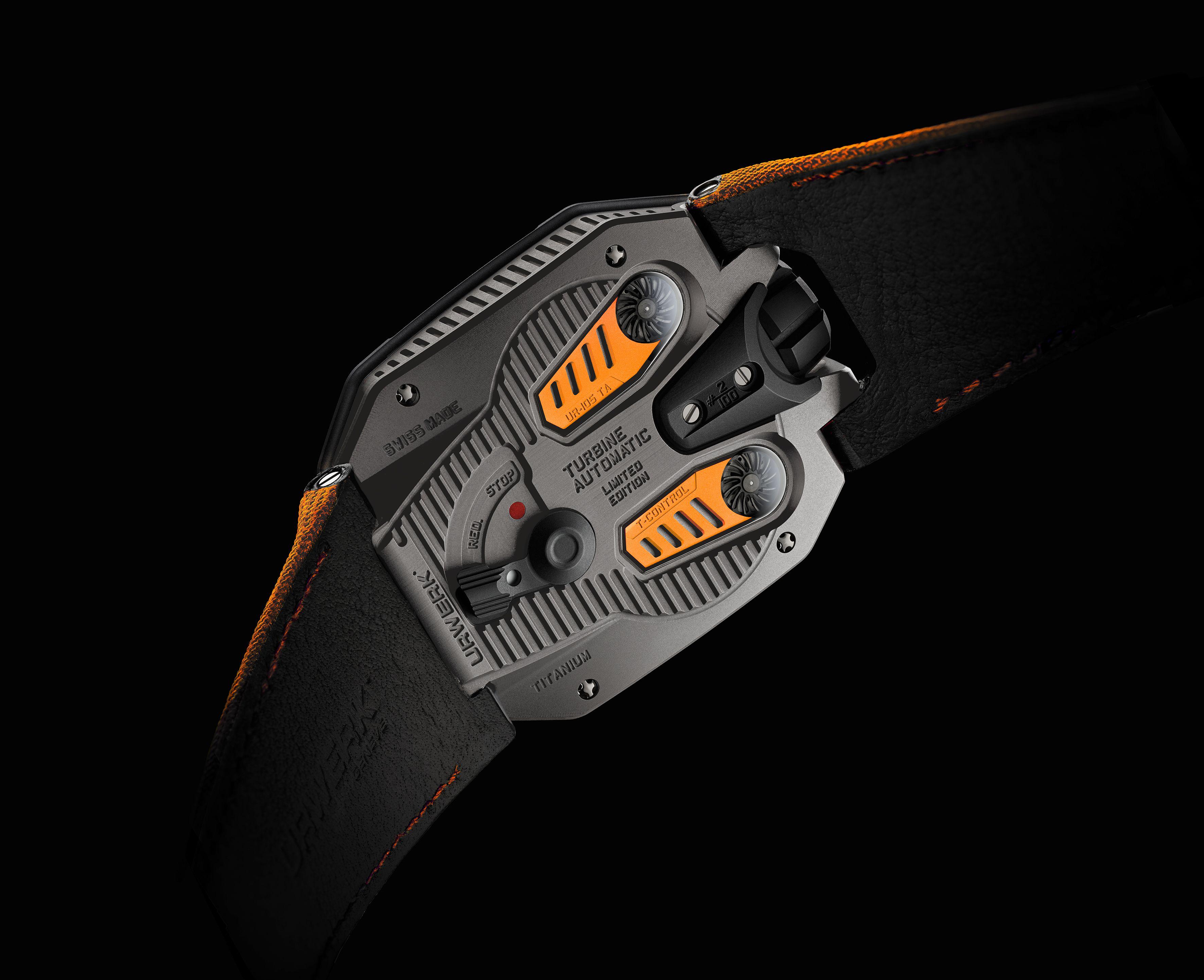 UR-105 TA Orange, URWERK