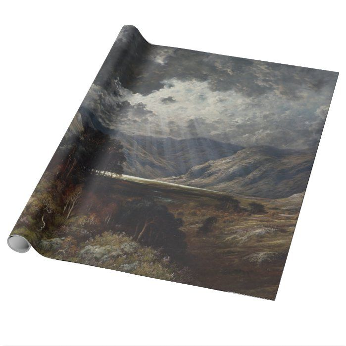 Gustave Dore - Loch Lomond Wrapping Paper