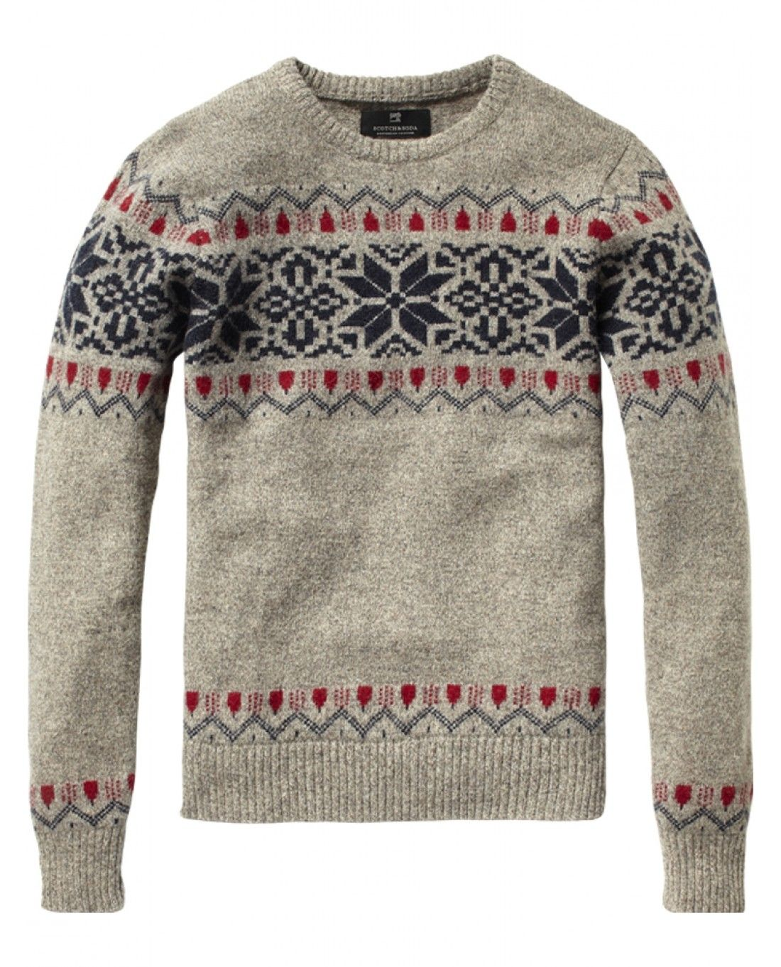 82cc5f63a4 Love sweater weather in MI. Christmas is calling  -) Fair isle crew neck  pull- Scotch   Soda.