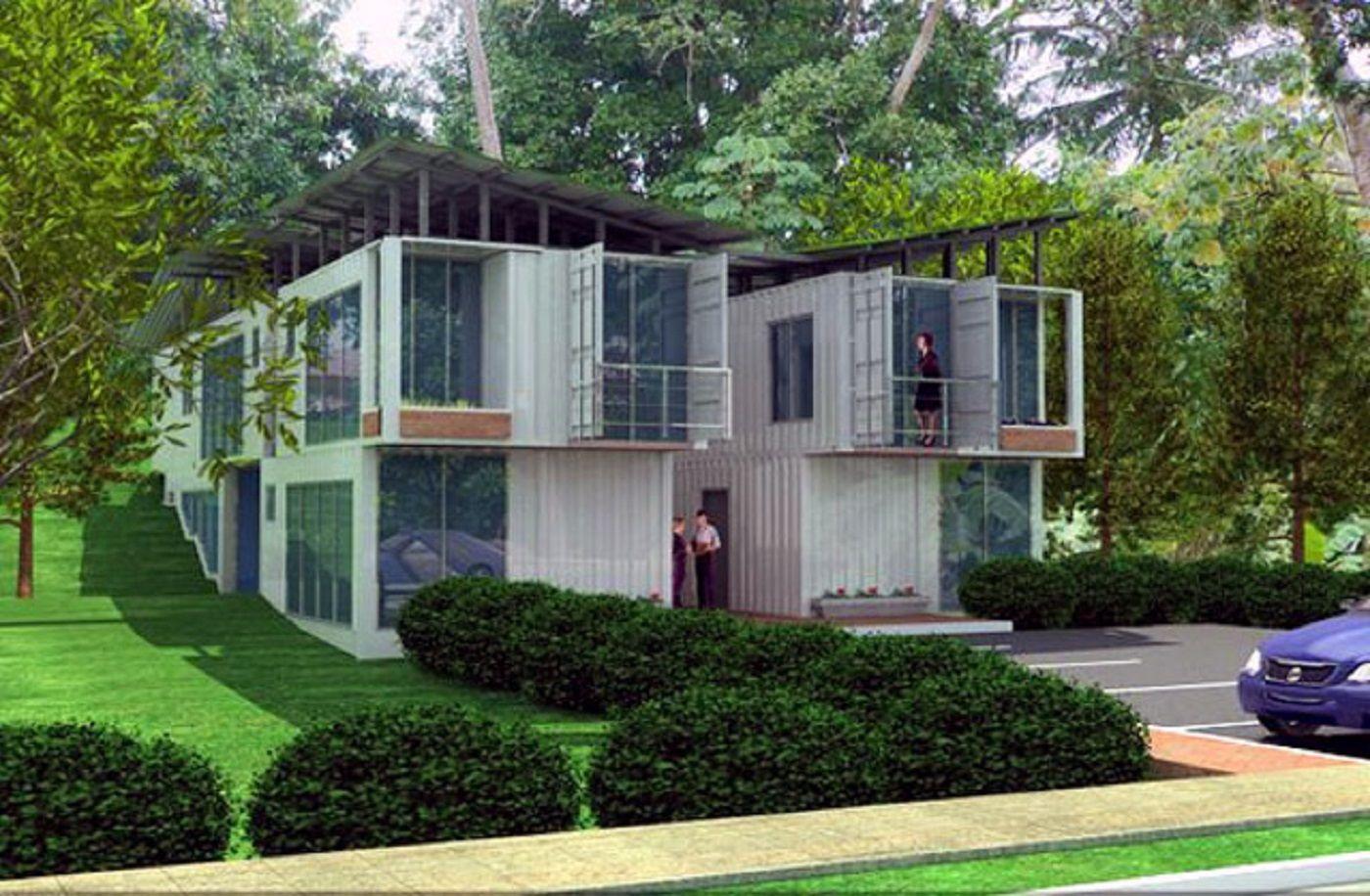 Pin von Elisa Scott auf STORAGE CONTAINER HOUSES AND TINY HOUSES ...