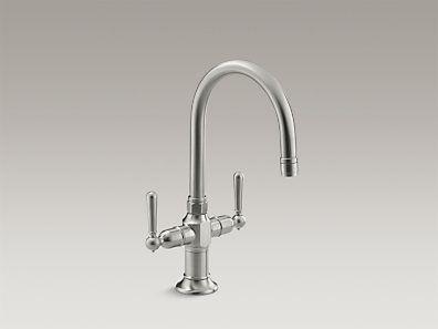Kohler K 7342 4 Bs Hirise Single Hole Bar Sink Faucet With Lever