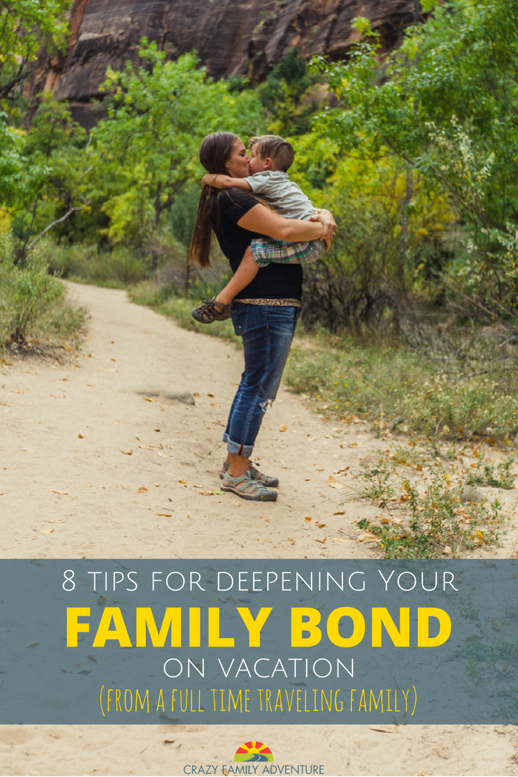 8 tips for deepening your family bond on vacation from a full