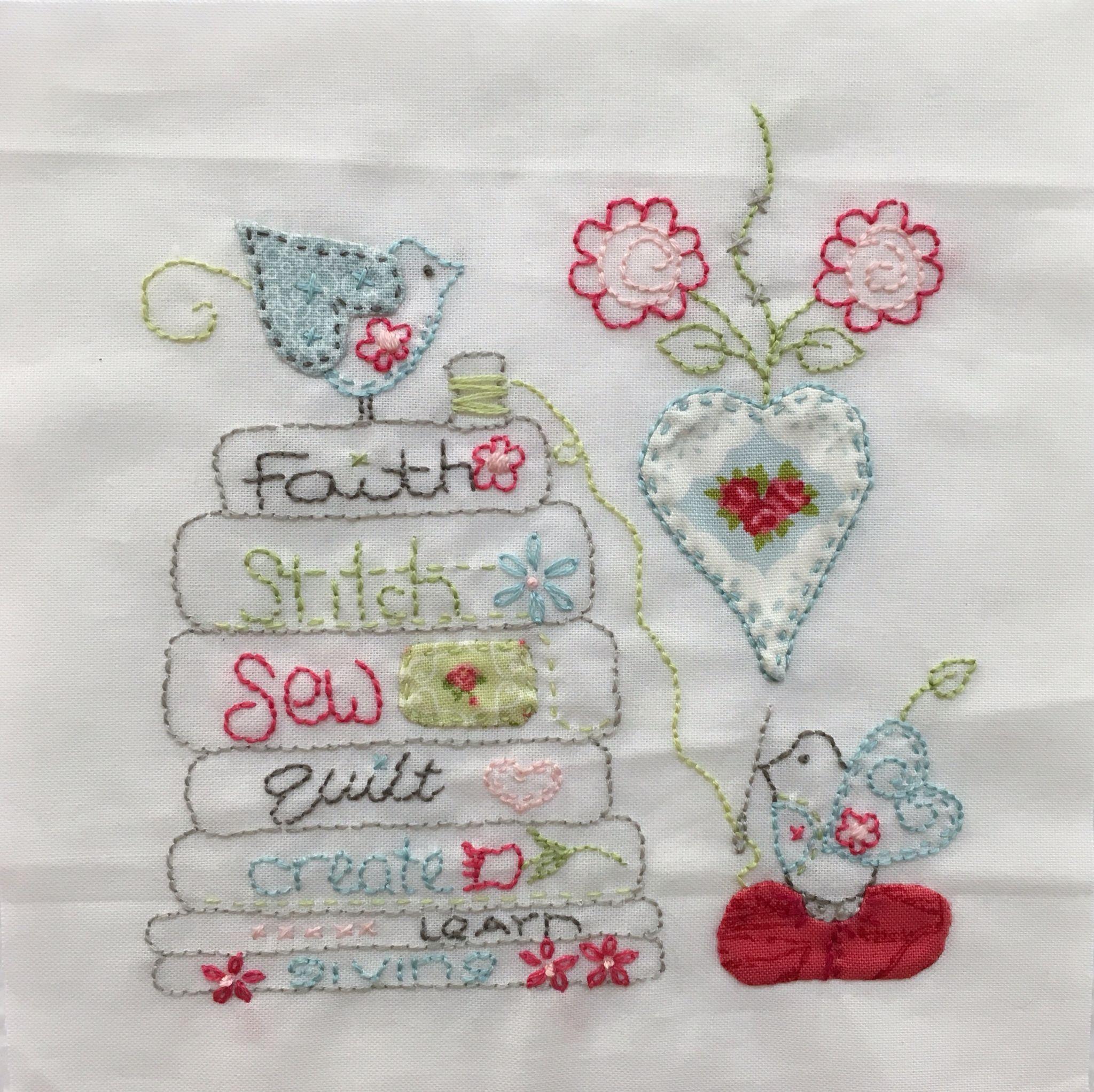 Block 31 of the Splendid Sampler Quilt. Blossoming by Jenny of ...