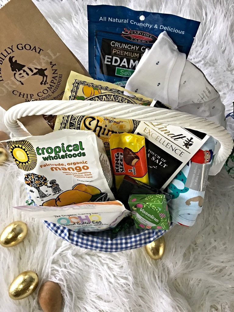 Easter basket for college boy for giving pinterest college easter basket for college boy negle Image collections