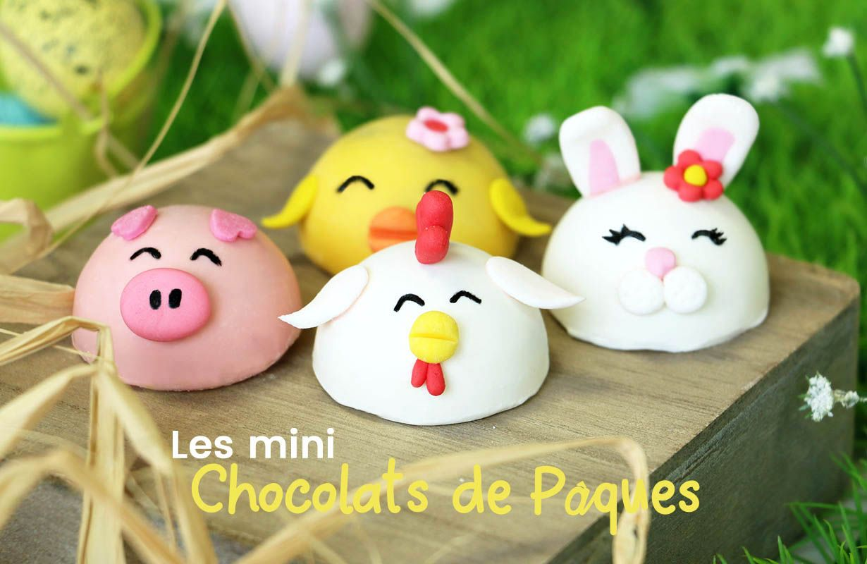 Mini Pascua de chocolate