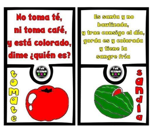 Pin De Contdeteresa En Adivinanzas Varias Juegos De Adivinanzas Adivinanzas Adivinanzas Para Niños