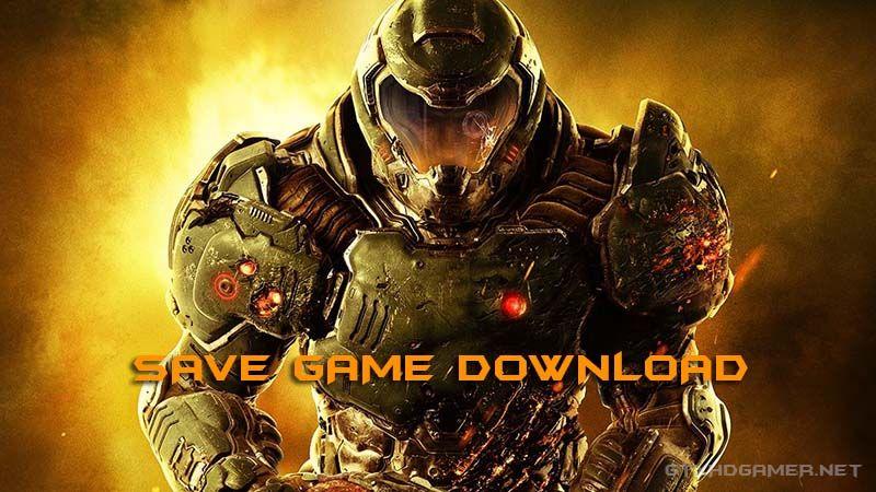 Doom 2016 Save Game Download (100% Unlocked)