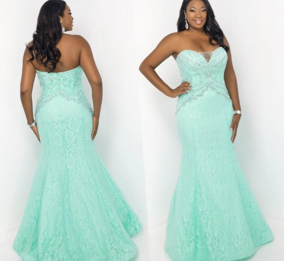 Beautiful plus size prom dresses - http://pluslook.eu/wedding ...