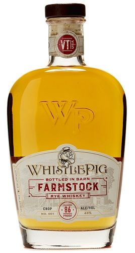 WhistlePig's new FarmStock rye, made at their Vermont farm.